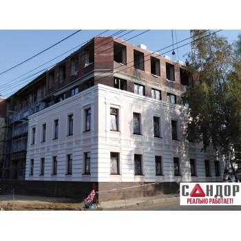 Штукатурный фасад - Коттедж №10