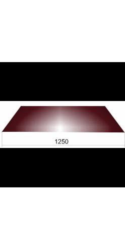 Гладкий лист шир.1250 ОН RAL9003 сигнально белый (СВ)