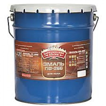 Эмаль ПФ-266 для пола золотисто-коричневая 0,9 кг