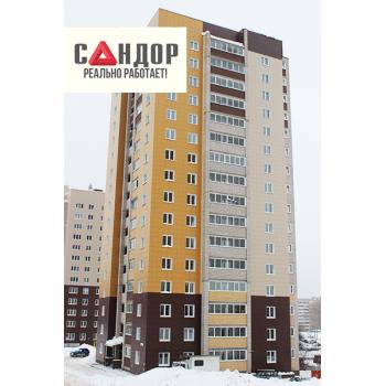Вентилируемый фасад - Многоэтажный дом