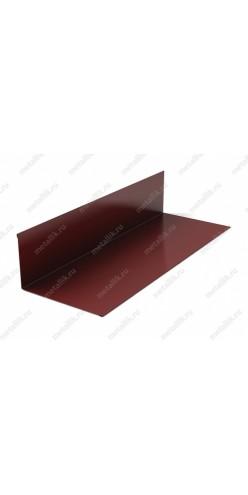 Планка примыкания верхняя 145х250х2000 в пленке