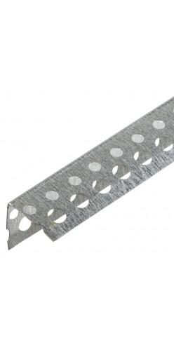 Угол перфорированый оцинк. 25 х25 х 3м 50/3600 шт