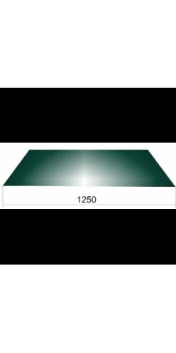 Гладкий лист шир.1250 ОН RAL6005 зеленый мох (СВ)