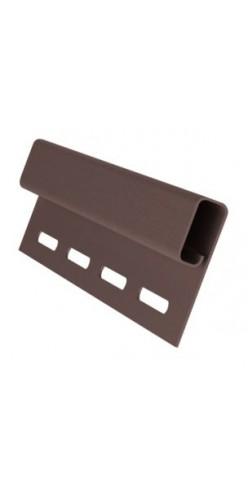 Планка финишная GL коричневый 3м