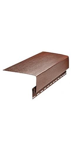 Планка околооконная GL коричневый 3,1м