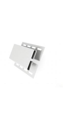 Н-профиль соединительный GL белый 3м