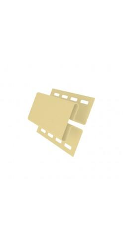 Н-профиль соединительный GL желтый 3м