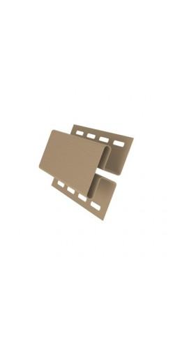 Н-профиль соединительный GL карамельный 3м