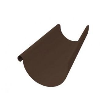 Желоб полукруг Grand Line 3м D125/90 RAL 8017(шоколад)
