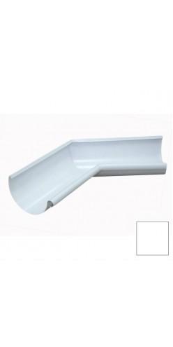 Угол желоба внутренний 90 градусов Grand Line D125/90 RAL9003 (белый)