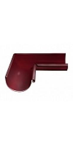 Угол желоба внутренний 90 градусов Grand Line D125/90 RAL3005 (красное вино)