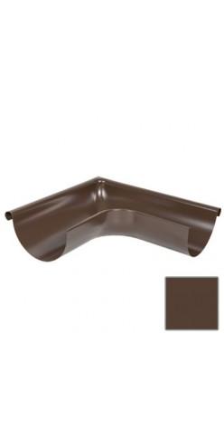Угол желоба внешний 135 градусов Grand Line D125/90 RAL8017(шоколад)