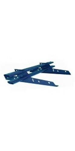 Снегозадержатель трубчатый BORGE МЧ/ПРОФН окрашенный 1м RAL 5005 (синий)
