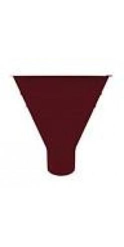 Воронка водосборная Grand Line D125/90 RAL3005 (красное вино)