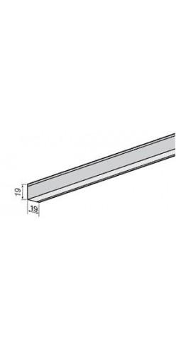 Уголок PL 19x19 A903Ст01 белый стальной L=3.00 (мет.) (70 шт)
