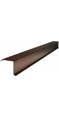 Планка ветровая (торцевая) 90х150х2000мм оцинк. (СВ)
