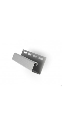 J-профиль серый 3м