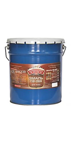 Эмаль ПФ-266 для пола золотисто-коричневая 25 кг