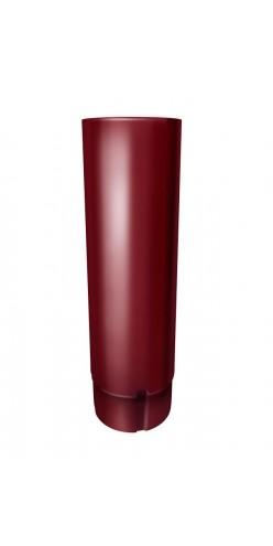 Труба круглая 3м Grand Line D125/90 RAL 3005 (красное вино)