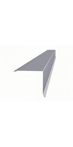Планка ветрова (торцевая) 120х120х2000мм оцинк. (СВ)