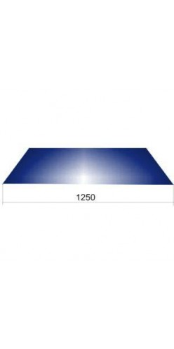 Гладкий лист шир.1250 ОН RAL5005 синий (СВ)