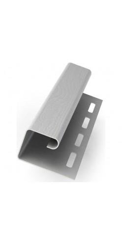 J-профиль универсальный GL белый 3м
