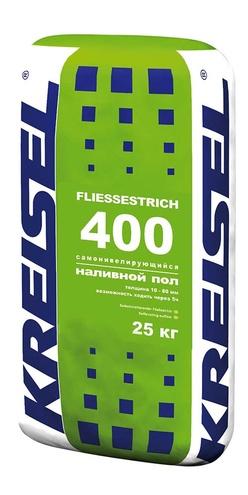 400 Самонивелирующийся наливной пол FLIESSESTRICH 25 кг