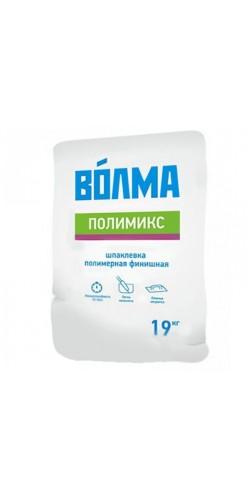 """Шпатлевка полимерная """"ВОЛМА-Полимикс"""", 19кг (60шт\поддон)"""