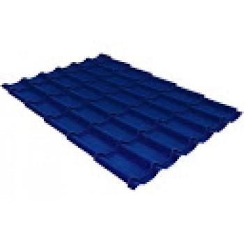 Металлочерепица Монтеррей шир.1100/1180 0,45мм RAL5005 синий