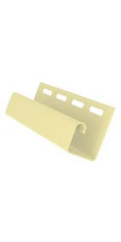 J-профиль желтый 3м