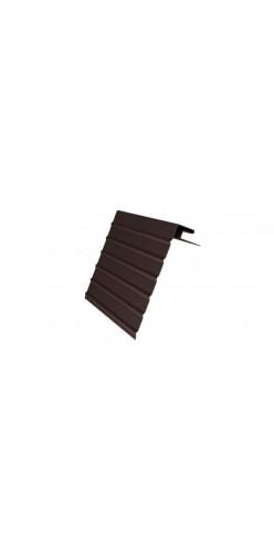 J-фаска GL (ветровая доска) коричневая 3м
