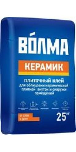 """Клей плиточный """"ВОЛМА-Керамик"""", 25кг (48шт\поддон)"""