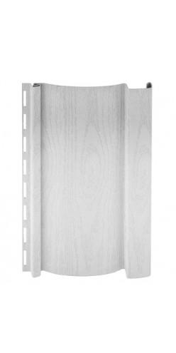 Сайдинг вертикальный Amerika (0,48 м2) белый 3,0 х 0,160 (10шт)